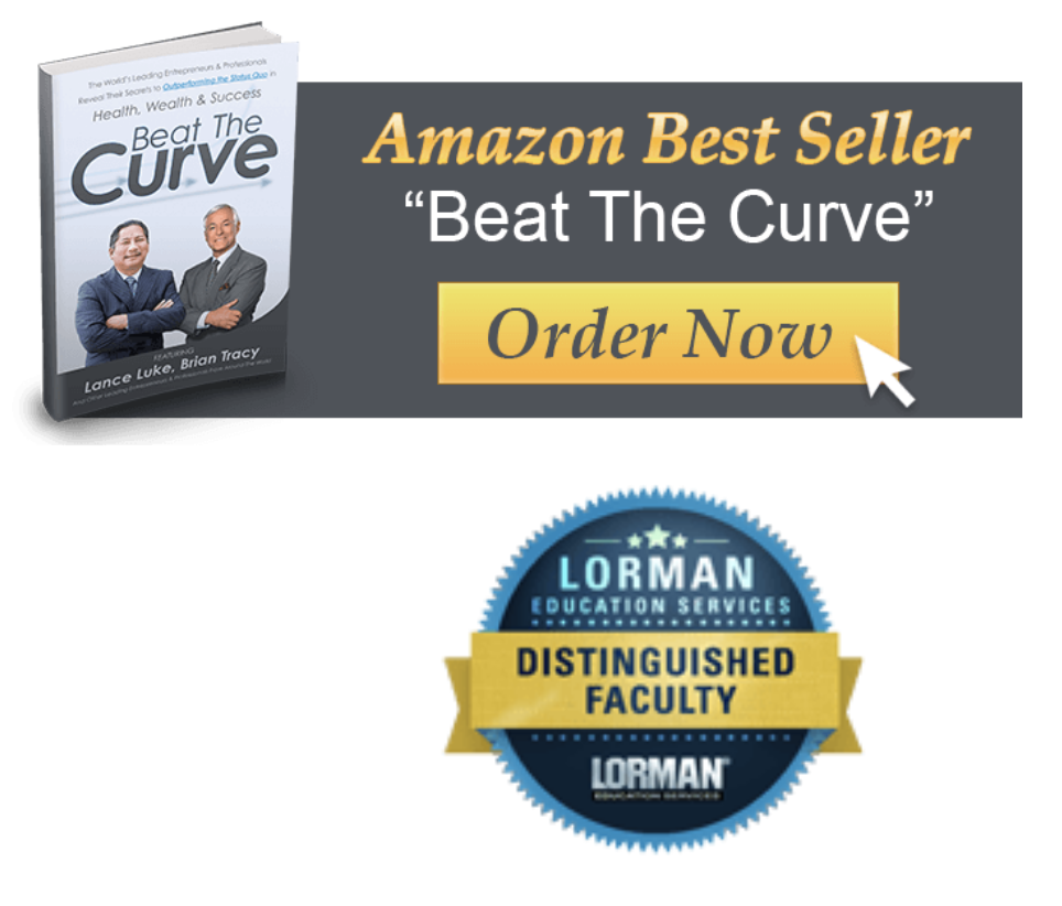 Beat the Curve- Lance Luke and Brian Tracy Book