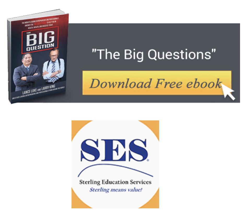The Big Question- Lance Luke & Larry King Book