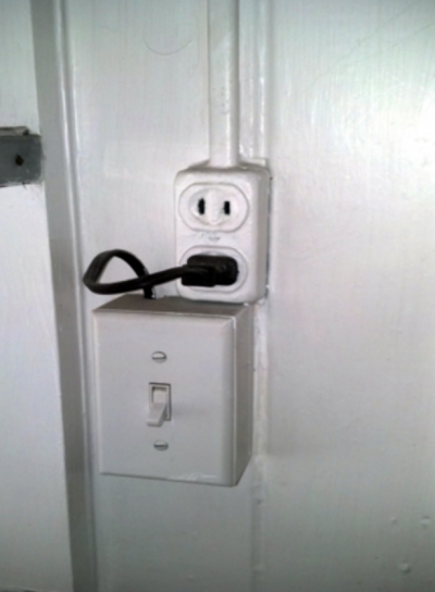 Light Switch Plug Danger