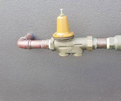 plumbing- pressure regulator